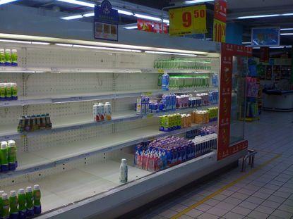 chinesisches kühlregal nach der milchkrise © Flickr / Marc van der Chijs