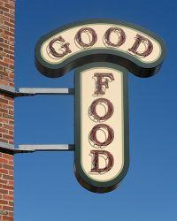 good-food-schild © Flickr / Paul Keleher