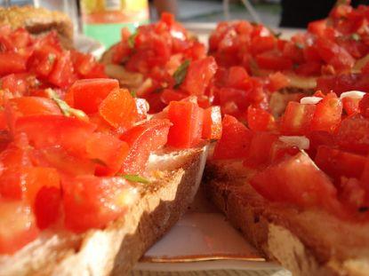 Bruscetta mit Tomaten © Flickr / bloggyboulga