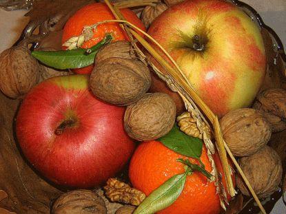 Obst und Nüsse zu Weihnachten © Flickr / Milica Sekulic