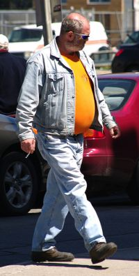 Raucher mit Übergewicht © Flickr / colros