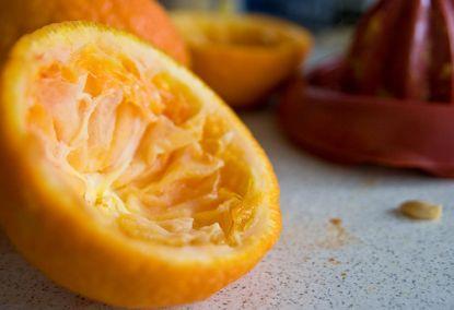 Ausgepresste Orange © Flickr / apesara