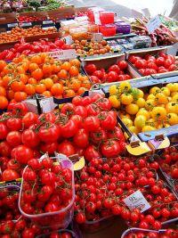 Gemüse auf dem Markt © Flickr / WordRidden