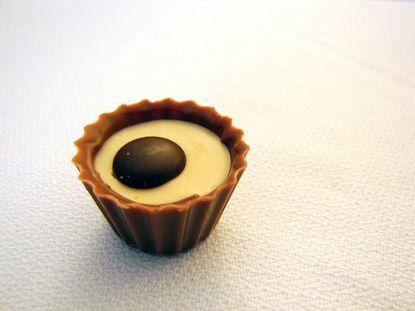 Schokoladen-Praline © Flickr / visualpanic