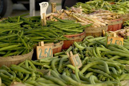 Mit Hilfe von frischen grünen Bohnen lassen sich unterschiedlichste Rezepte verwirklichen. © Flickr / ellievanhoutte