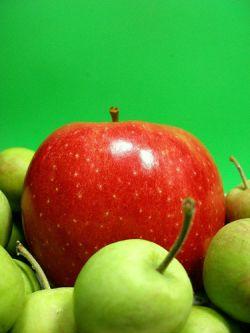 Der neue Apfel ist länger haltbar. © Flickr / tanakawho